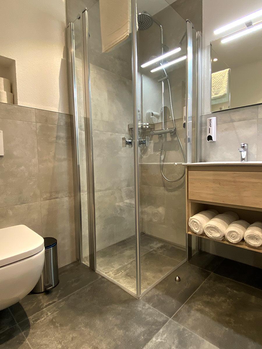 Doppelzimmer für 2 Personen Bad - Hotel Kosel