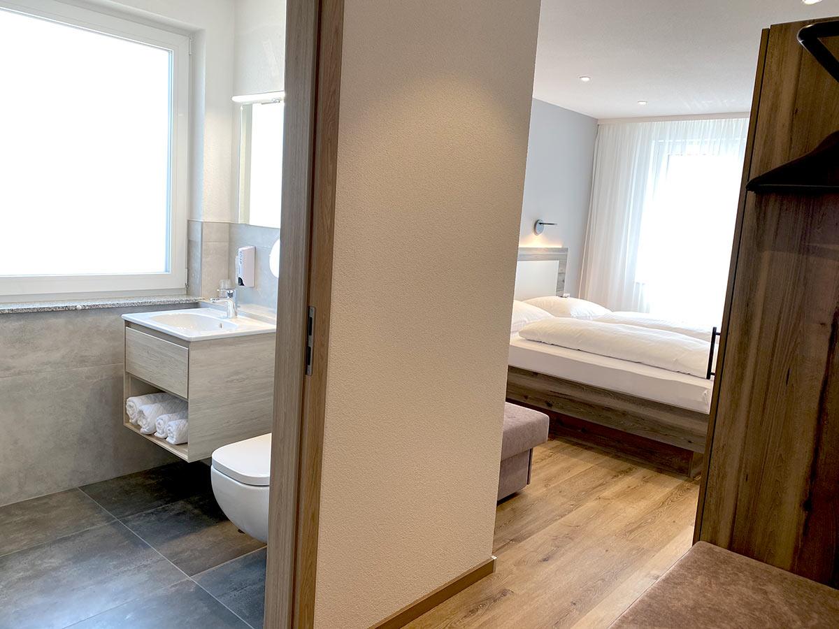 Doppelzimmer für 3 Personen Bad - Hotel Kosel